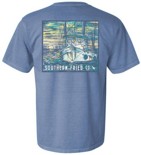 Southern Fried Cotton Men's Catch This T-Shirt product image