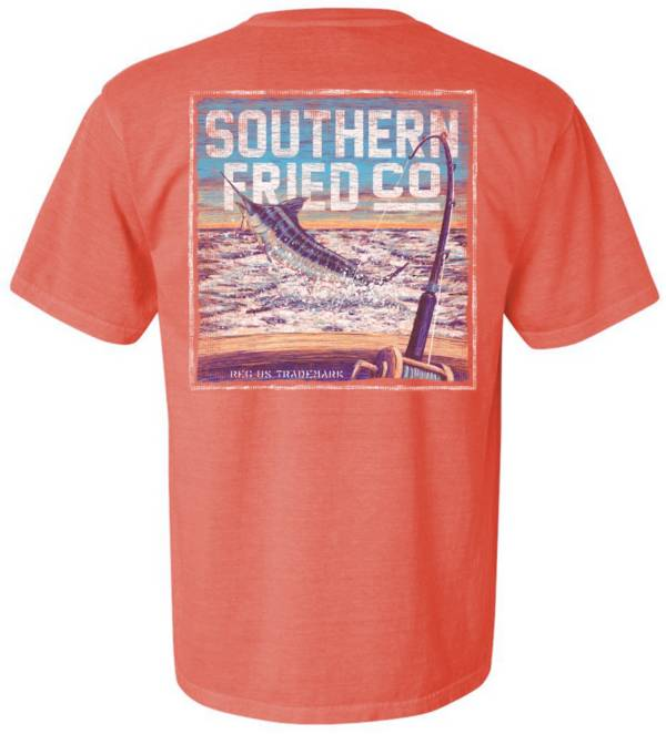 Southern Fried Cotton Men's This One Didn't Get Away T-Shirt product image