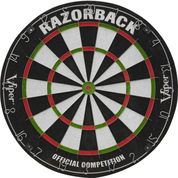 Viper Razorback Sisal Dartboard & Sure Grip Black Soft Tip Darts Bundle product image