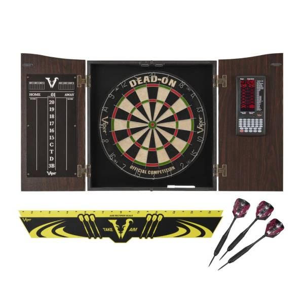 Viper Vault Deluxe Dartboard Cabinet Bundle product image