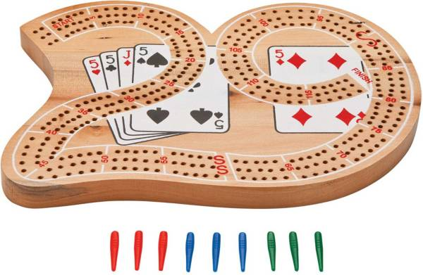 Mainstreet Classics Wooden Cribbage Board product image
