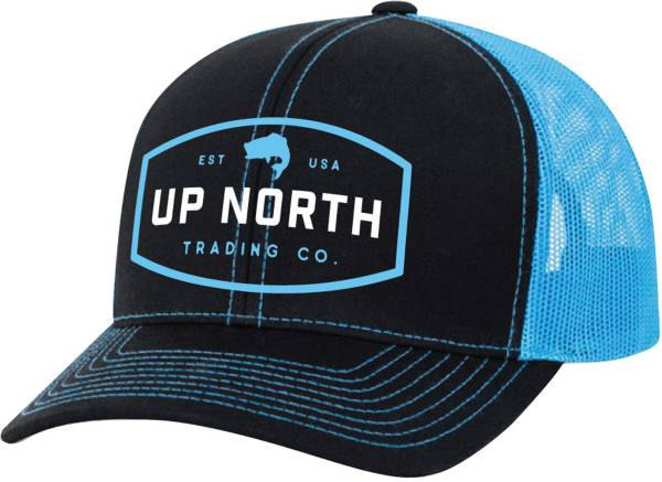 Up North Trading Company Men's Bass Snapback Trucker Hat product image