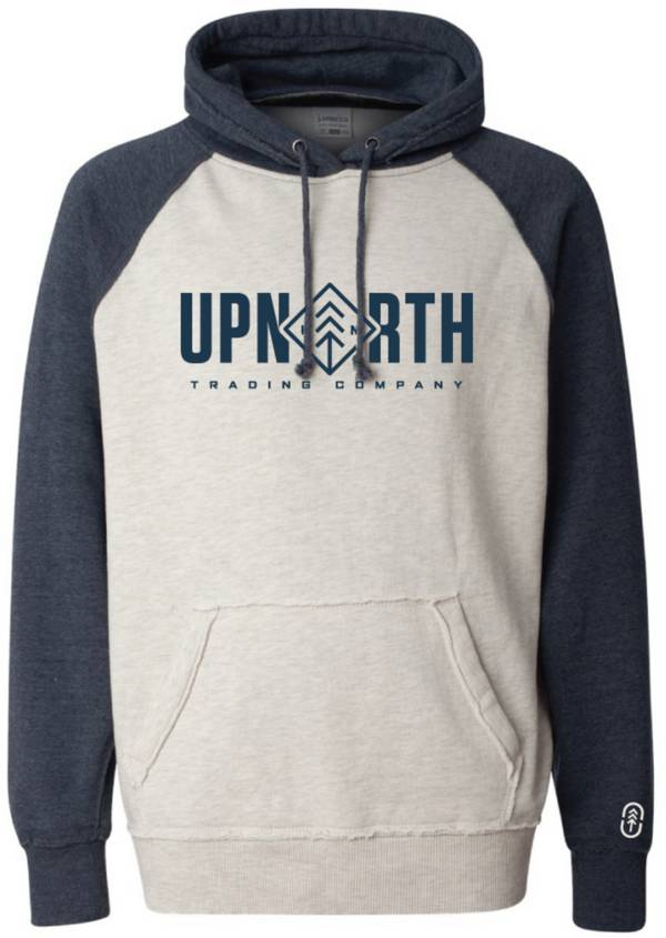 Up North Trading Company Men's Two Tone Diamond Hoodie product image