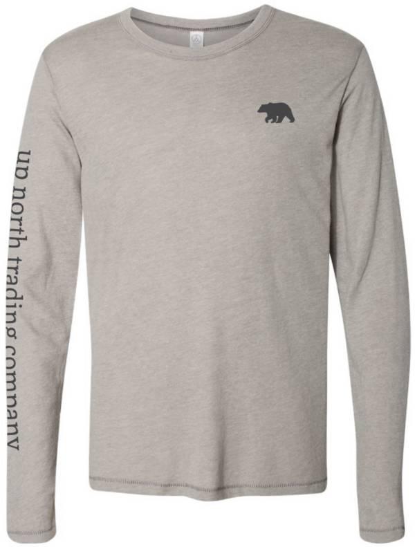 Up North Trading Company Men's Bear Walk Long Sleeve T-Shirt product image