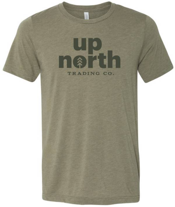 Up North Trading Company Men's Text Short Sleeve T-Shirt product image