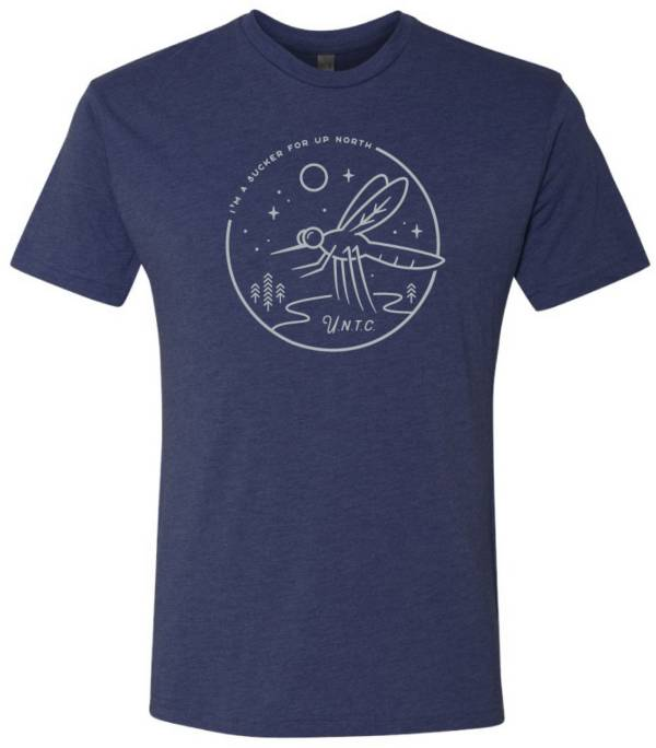 Up North Trading Company Men's Navy Skeeter T-Shirt product image