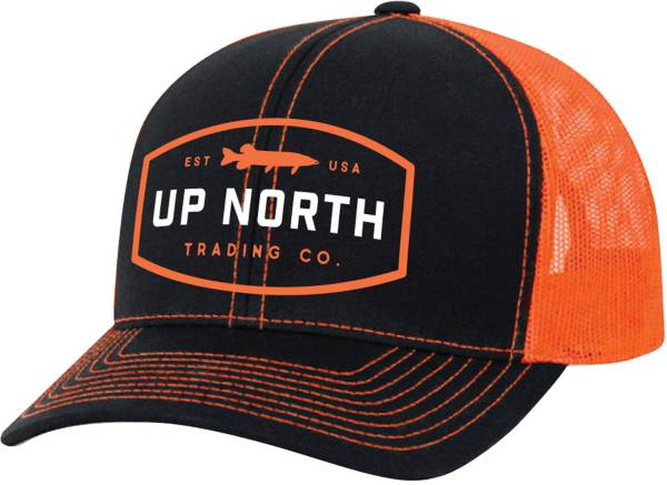 Up North Trading Company Men's Northern Muskie Snapback Trucker Hat product image