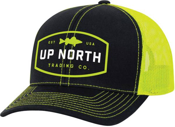 Up North Trading Company Men's Walleye Snapback Trucker Hat product image