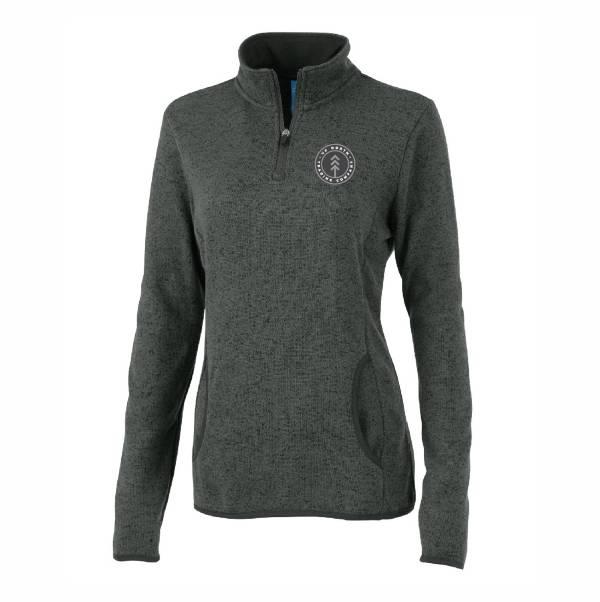 Up North Trading Company Women's Round Lake 1/4 Zip Sweatshirt product image