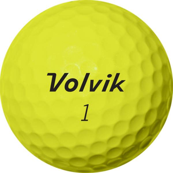 Volvik 2020 Magma Yellow Golf Balls product image