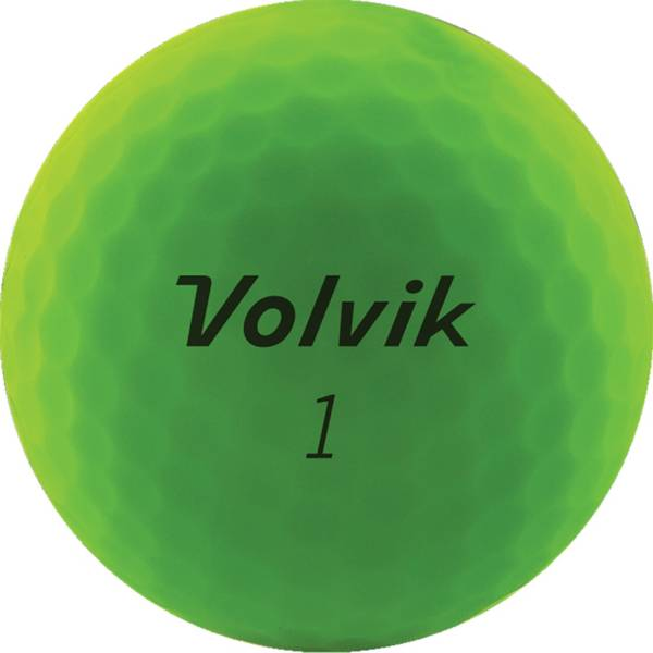 Volvik 2020 VIVID Matte Green Personalized Golf Balls product image
