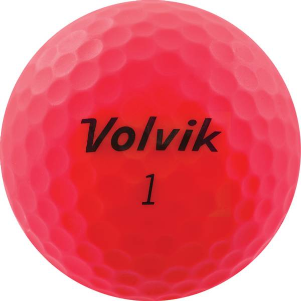Volvik Vivid Matte Pink Golf Balls product image