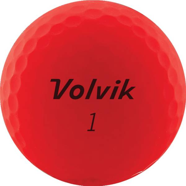 Volvik 2020 VIVID Matte Red Personalized Golf Balls product image
