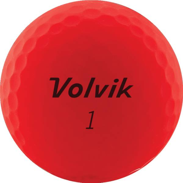 Volvik 2020 VIVID Matte Red Golf Balls product image
