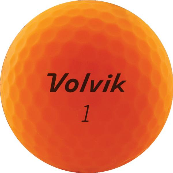 Volvik Vivid Matte Orange Golf Balls product image