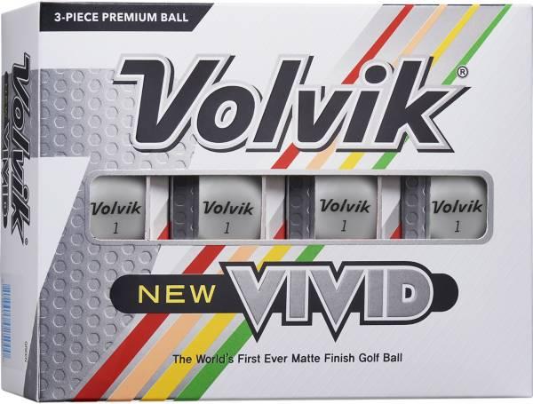 Volvik 2020 VIVID Matte White Golf Balls product image