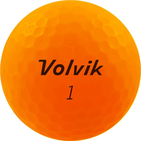 Volvik 2020 VIVID XT AMT Matte Orange Golf Balls product image