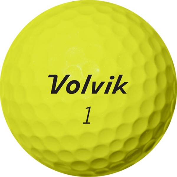 Volvik 2020 VIVID XT Soft Yellow Golf Balls product image