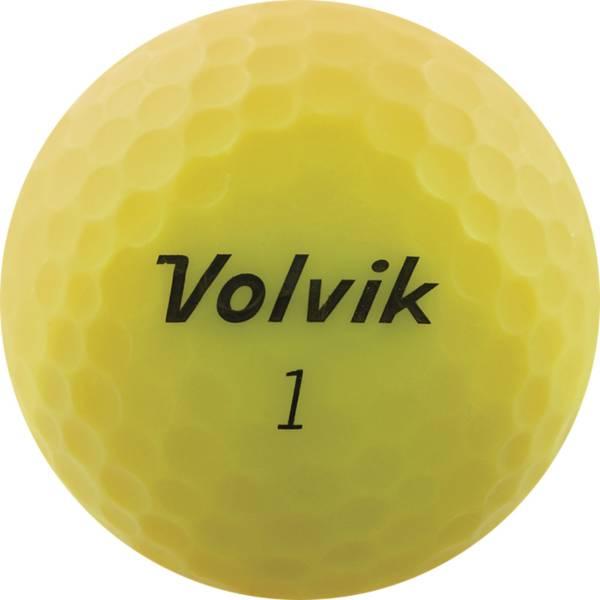 Volvik 2020 VIVID Matte Yellow Golf Balls product image