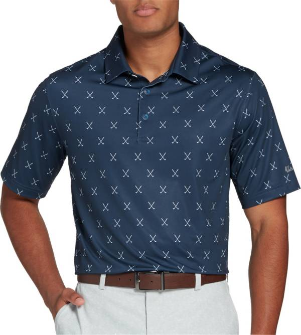 Walter Hagen Men's Big & Tall Perfect 11 Cross Clubs Printed Golf Polo product image