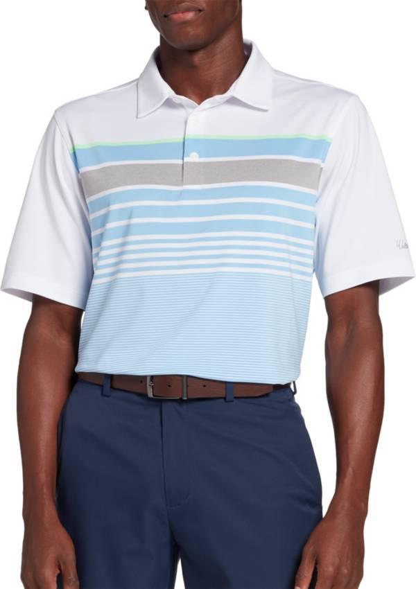 Walter Hagen Men's Perfect 11 Colorblock Multi Stripe Golf Polo product image