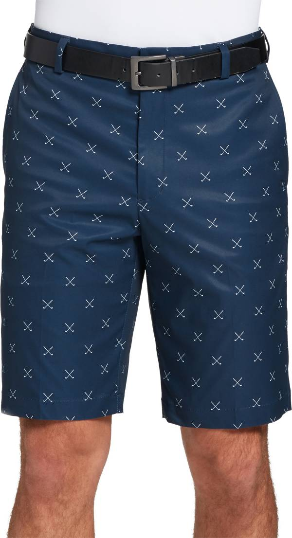 Walter Hagen Men's Perfect 11 Cross Clubs Printed Golf Shorts product image