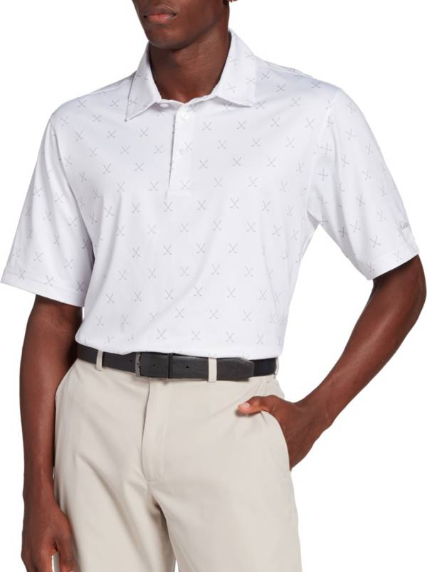 Walter Hagen Men's Perfect 11 Cross Clubs Golf Polo product image