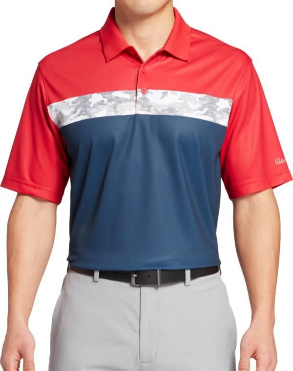 Walter Hagen Men's P11 Americana Camo Stripe Golf Polo product image