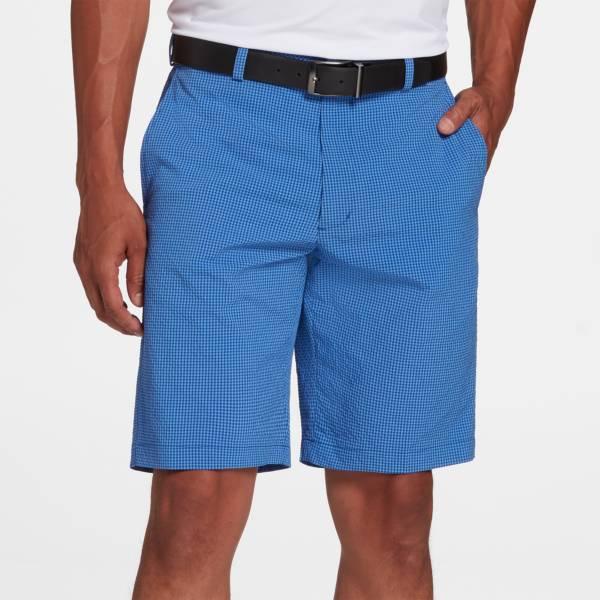 Walter Hagen Men's Perfect 11 Seersucker Gingham Golf Shorts product image