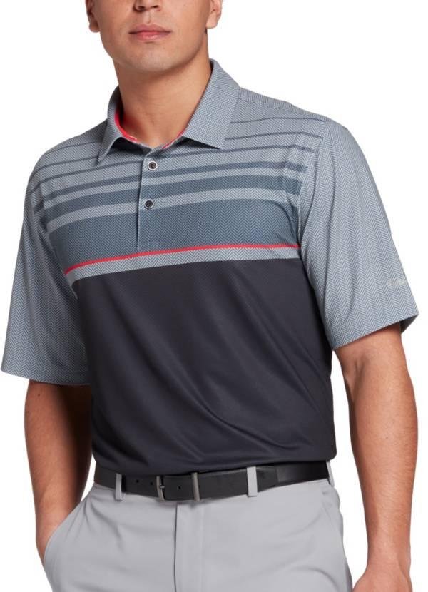 Walter Hagen Men's Perfect 11 Herringbone Chest Golf Polo product image