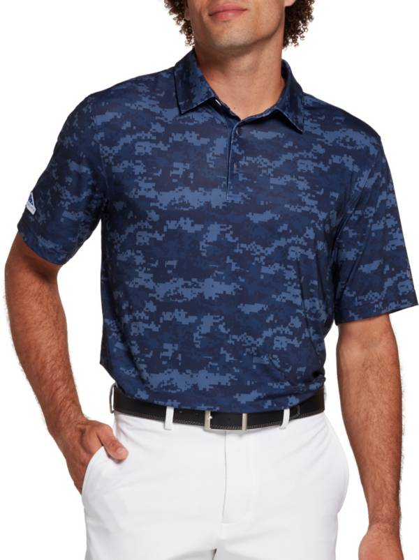 Walter Hagen Men's Folds Of Honor Perfect 11 All Over Camo Printed Golf Polo product image