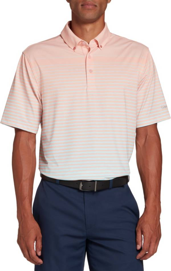 Walter Hagen Men's Perfect 11 Allover Ombre Stripe Golf Polo product image
