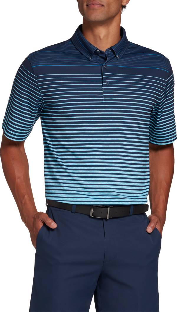 Walter Hagen Men's Perfect 11 Allover Ombre Stripe Golf Polo product image