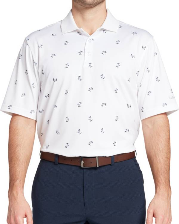 Walter Hagen Men's Perfect 11 Palm Tree Golf Polo product image