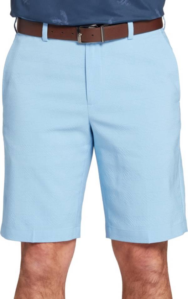 """Walter Hagen Men's Perfect 11 Seersucker Plaid 10"""" Golf Shorts product image"""