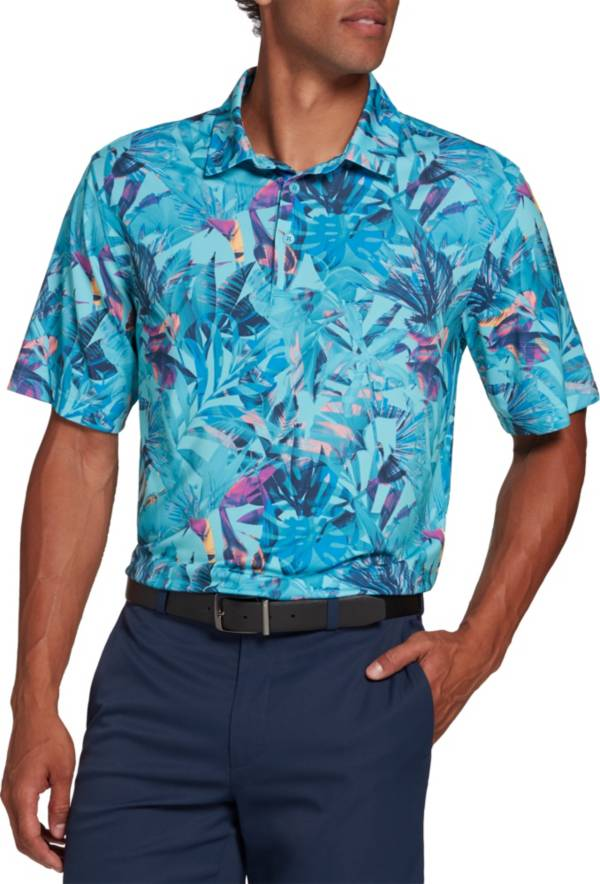 Walter Hagen Men's Perfect 11 Tropical Printed Golf Polo product image