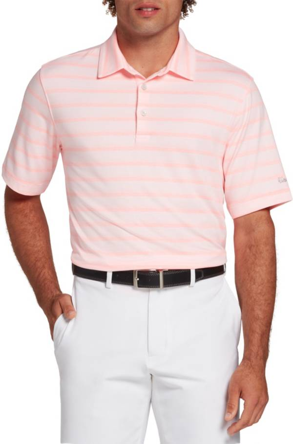Walter Hagen Perfect 11 Textured Heather Stripe Polo product image