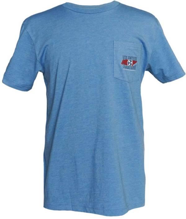 Volunteer Traditions Men's TN Outline Pocket Short Sleeve T-Shirt product image