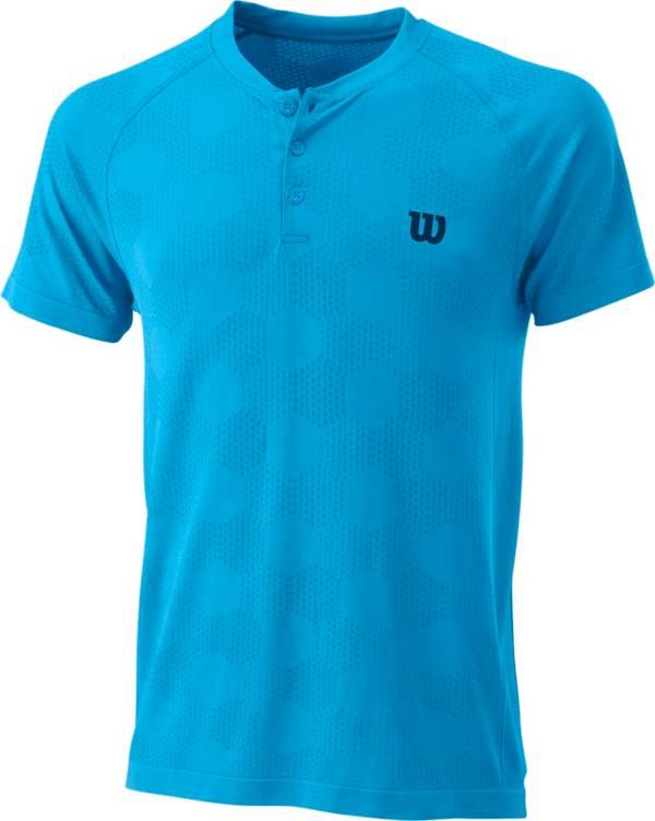 Wilson Men's Power Seamless Henley Tennis T-Shirt product image