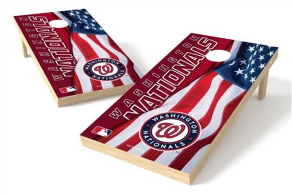 Wild Sports Washington Nationals 2' x 4' Cornhole Board Set product image