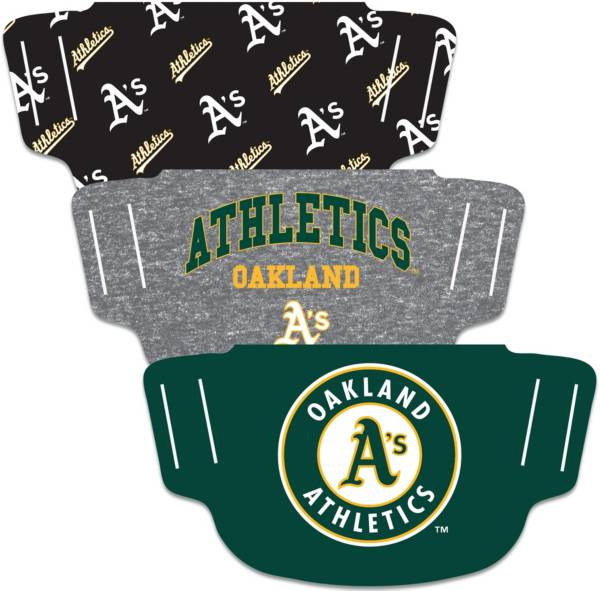 Wincraft Oakland Athletics Face Mask – 3-Pack product image