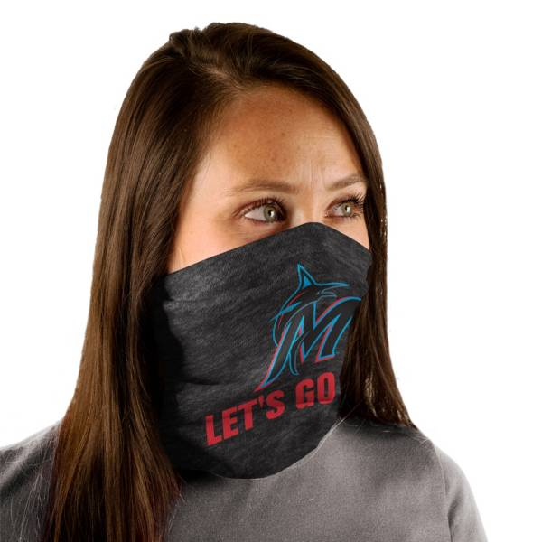 Wincraft Adult Miami Marlins Split Neck Gaiter product image