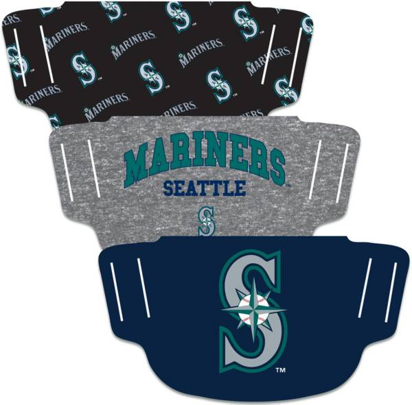Wincraft Seattle Mariners Face Coverings – 3-Pack product image