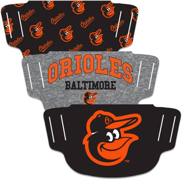 Wincraft Baltimore Orioles Face Mask – 3-Pack product image