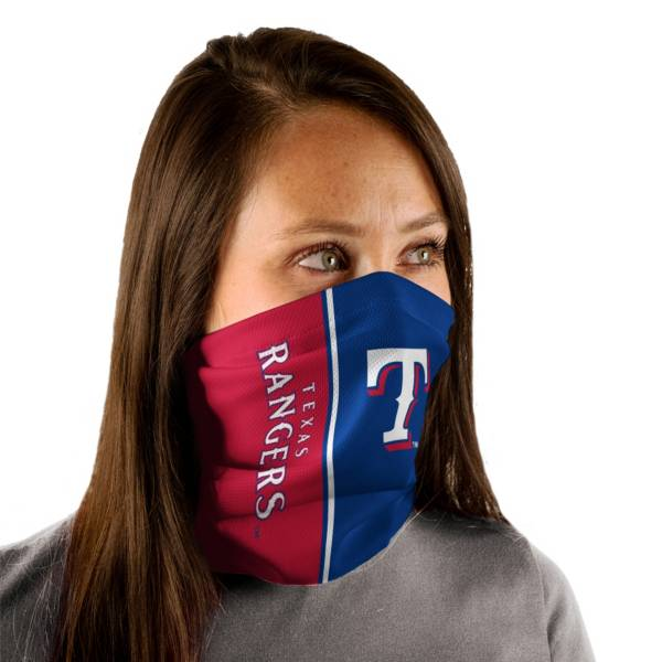Wincraft Adult Texas Rangers Split Neck Gaiter product image
