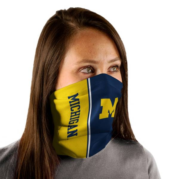 Wincraft Adult Michigan Wolverines Split Neck Gaiter product image