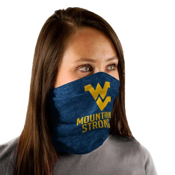 Wincraft Adult West Virginia Mountaineers Split Neck Gaiter product image