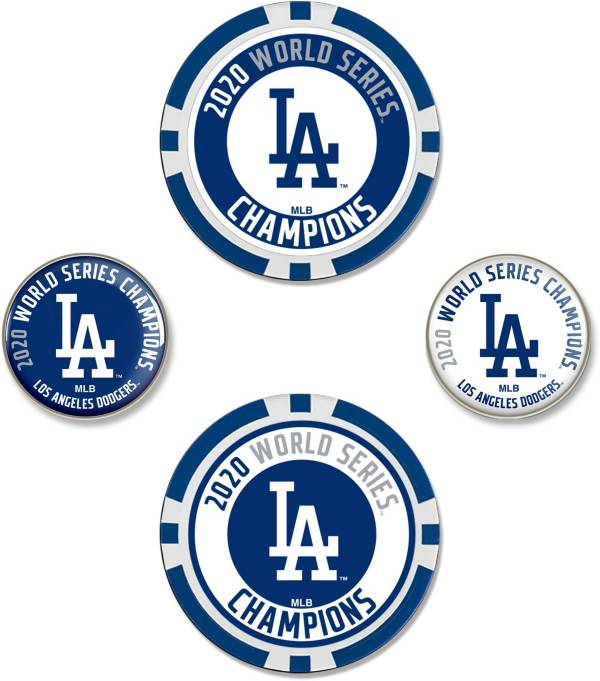 WinCraft Los Angeles Dodgers 2020 World Series Champ Ball Marker Set product image