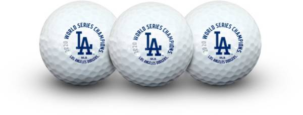 WinCraft Los Angeles Dodgers 2020 World Series Champ Golf Balls product image