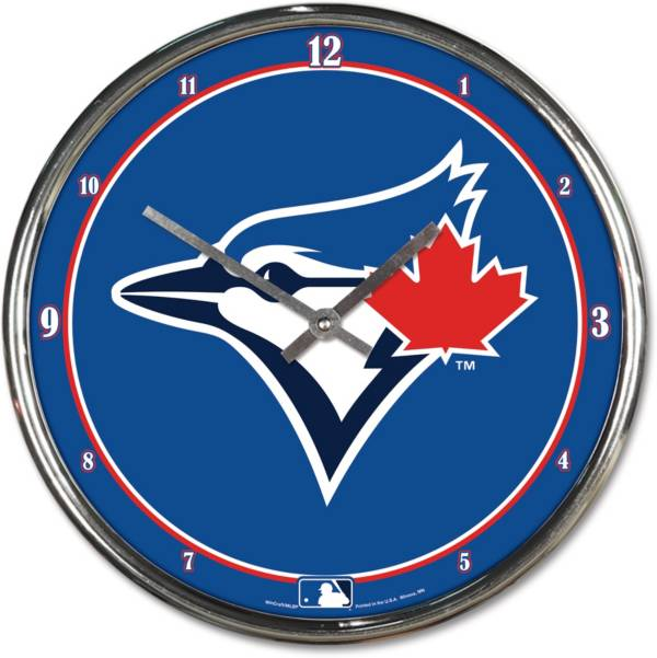 WinCraft Toronto Blue Jays Chrome Clock product image